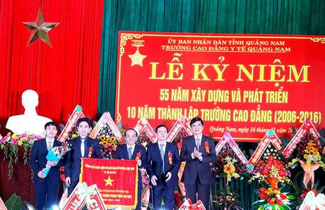 Truong Cao dang Y te Quang Nam ky niem 10 nam thanh lap - Anh 1
