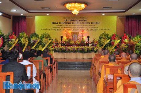 Le tuong niem Pho Phap chu Giao hoi Phat giao Viet Nam tai Ha Noi - Anh 1
