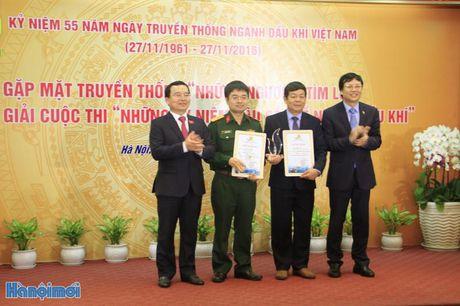 943 tac pham tham du cuoc thi Nhung ky niem sau sac ve nganh Dau khi - Anh 1
