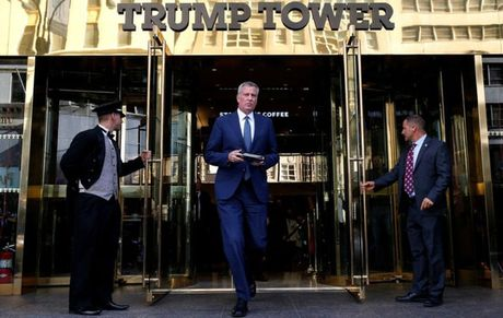 """""""Que nha"""" New York cung so ong Trump - Anh 1"""
