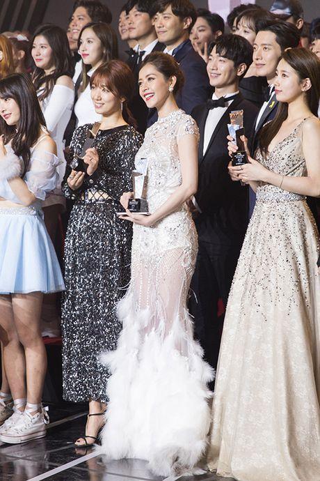 Chi Pu gian di van xinh khi di phong van voi dai KBS - Anh 10
