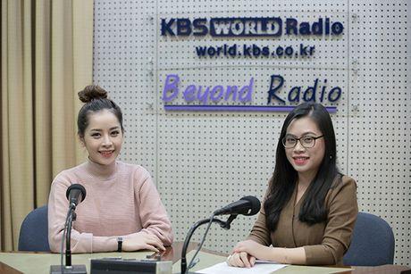 Chi Pu gian di van xinh khi di phong van voi dai KBS - Anh 2
