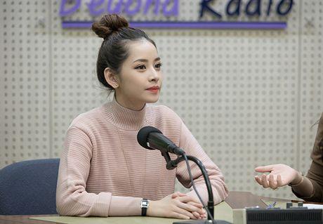 Chi Pu gian di van xinh khi di phong van voi dai KBS - Anh 3