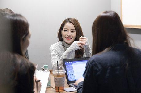 Chi Pu gian di van xinh khi di phong van voi dai KBS - Anh 4