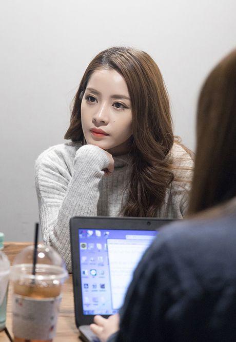 Chi Pu gian di van xinh khi di phong van voi dai KBS - Anh 5