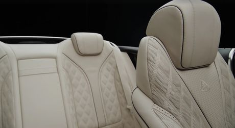 He lo hinh anh sieu xe mui tran Mercedes-Maybach S650 Cabriolet - Anh 6
