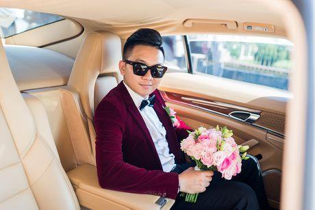 Choang vang dan sieu xe 50 ty trong le cuoi cua dai gia Quang Ninh - Anh 5