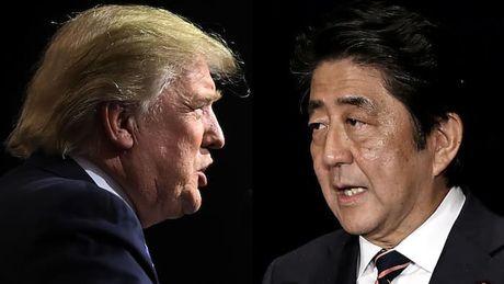 Chau A hoi hop cho doi cuoc gap Donald Trump - Shinzo Abe - Anh 1