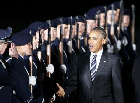 Tong thong Obama va chuyen di tam biet 'ban than' Merkel - Anh 2