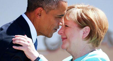 Tong thong Obama va chuyen di tam biet 'ban than' Merkel - Anh 3