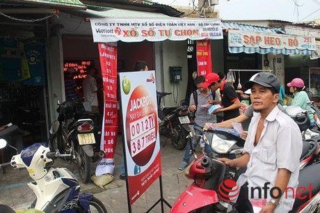 Phat hien mot diem ban ve so Vietlott 'chui' tai Dong Thap - Anh 1