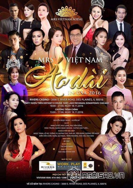 Valencia Tran len duong tham gia Mrs Vietnam Aodai tai My - Anh 1