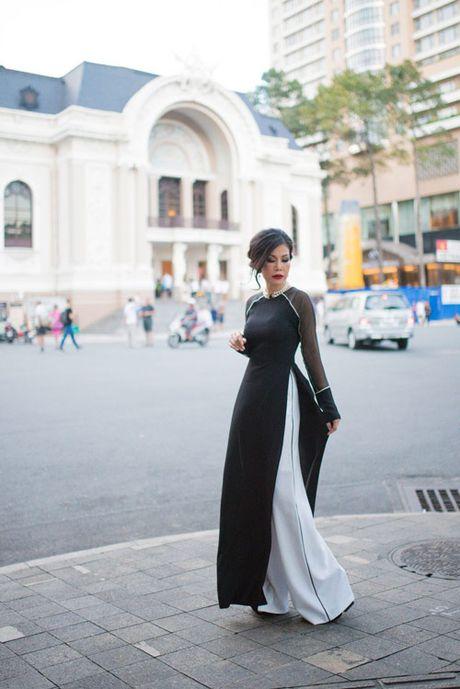 Valencia Tran len duong tham gia Mrs Vietnam Aodai tai My - Anh 2