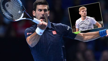 Djokovic - Goffin: Thang than toc (ATP Finals) - Anh 1