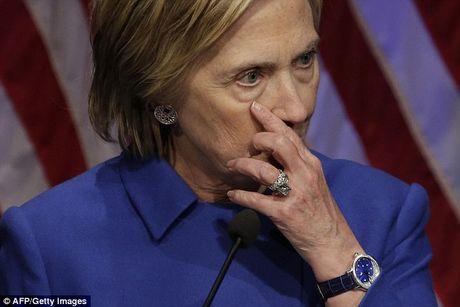 Hillary gia nua trong lan xuat hien cong khai dau tien sau that bai - Anh 3