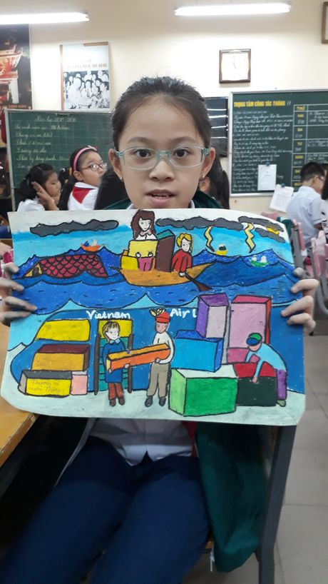 Phat dong cuoc thi ve tranh 'Sai canh vuon cao' - Anh 1