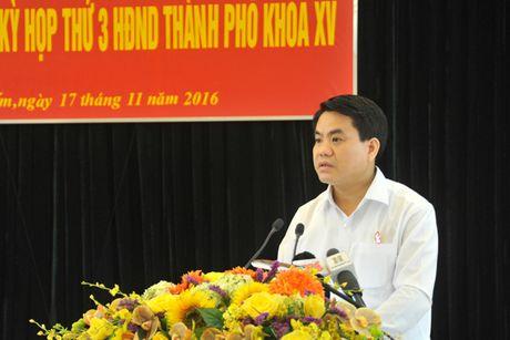 Chu tich UBND TP Nguyen Duc Chung: Doi moi dieu hanh, dam bao hieu qua dau tu cong - Anh 3