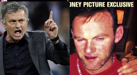Mourinho noi dien, Rooney xin loi vi say xin chup hinh ben gai la - Anh 1