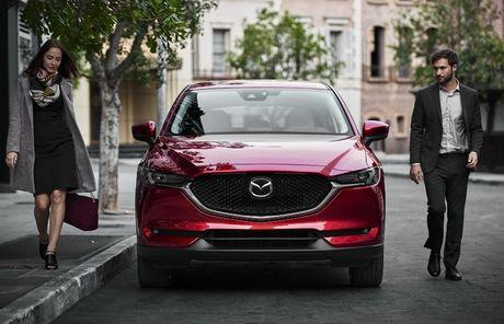 Mazda CX-5 2017 ra mat voi nhieu cai tien moi - Anh 1
