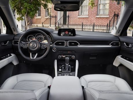 Mazda CX-5 2017 ra mat voi nhieu cai tien moi - Anh 3