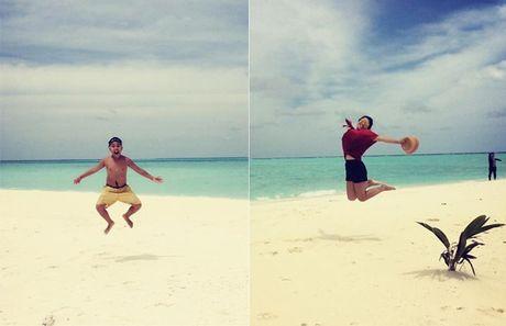 Chuyen di Maldives trong mo cua me don than ung thu va con trai - Anh 12