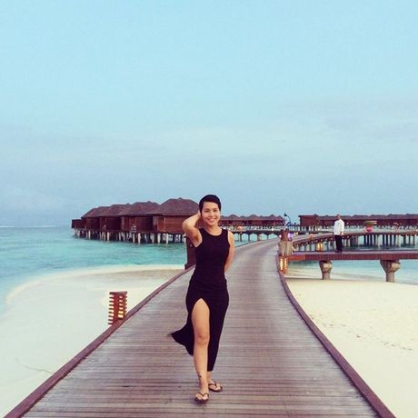 Chuyen di Maldives trong mo cua me don than ung thu va con trai - Anh 2