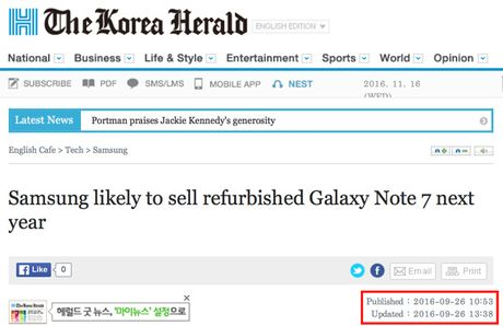 Samsung khong ban Galaxy Note 7 dang tan trang - Anh 2