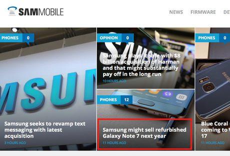 Samsung khong ban Galaxy Note 7 dang tan trang - Anh 3
