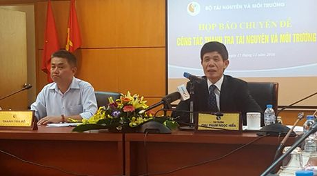 Cong bo ket luan Thanh tra TN&MT: Nong vu Formosa va Nui Phao - Anh 1