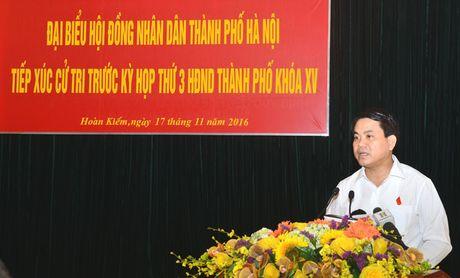 Chu tich Nguyen Duc Chung: Quy hoach cac benh vien dam bao thuan tien nhat cho nguoi dan - Anh 1