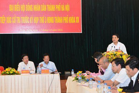 Chu tich Nguyen Duc Chung: Quy hoach cac benh vien dam bao thuan tien nhat cho nguoi dan - Anh 2