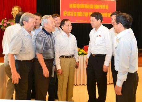 Chu tich Nguyen Duc Chung: Quy hoach cac benh vien dam bao thuan tien nhat cho nguoi dan - Anh 5