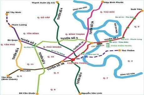 TP.HCM: Dau tu hon 41.000 ty dong cho tuyen metro so 5 giai doan 1 - Anh 1