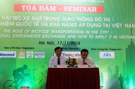 Phat trien xe dap cong cong trong giao thong do thi Viet Nam - Anh 1
