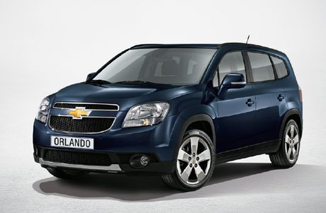 GM Viet Nam trieu hoi Chevrolet Orlando - Anh 1