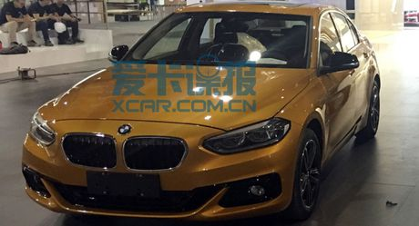 BMW tung 1-Series mau vang danh rieng cho thi truong Trung Quoc - Anh 1