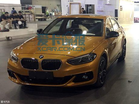 BMW tung 1-Series mau vang danh rieng cho thi truong Trung Quoc - Anh 2