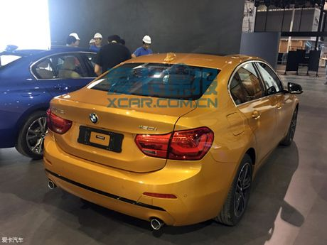BMW tung 1-Series mau vang danh rieng cho thi truong Trung Quoc - Anh 4