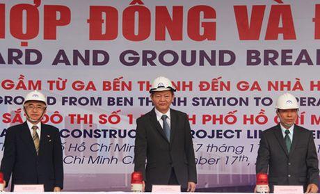 TP HCM khoi cong ga ngam Ben Thanh - Anh 2