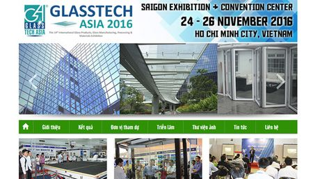 Sap khai mac Trien lam Glasstech ASIA 2016 - Anh 1
