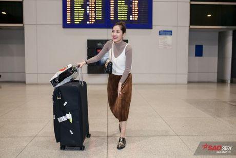 Tro ve tu Han Quoc, Chi Pu duoc dong dao fan vay don tai san bay luc toi muon - Anh 5