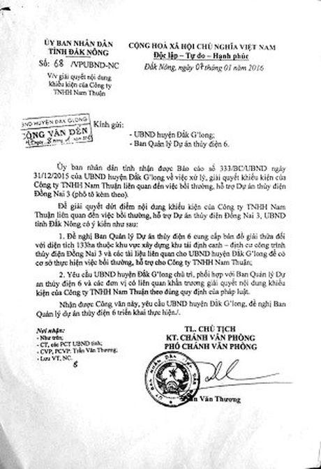 UBND huyen Dak G'Long khong thuc hien ban an da co hieu luc - Anh 2