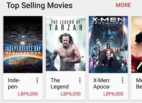 Dich vu phim Google Play Movies ho tro thi truong Viet Nam - Anh 1