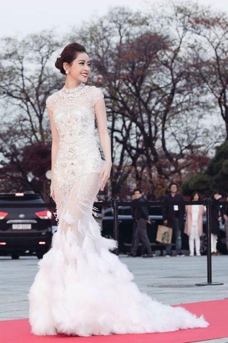 Chi Pu duoc vinh danh Nghe si moi chau A tai Han Quoc - Anh 3