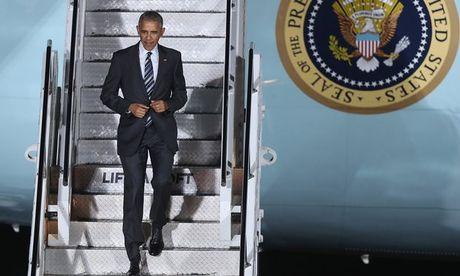 Obama an toi lan cuoi voi 'nguoi ban than' Merkel - Anh 1