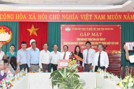 Gap mat lanh dao Mat tran tinh Khanh Hoa qua cac thoi ky - Anh 3