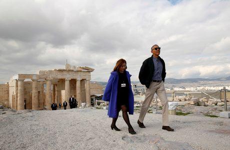Obama den xu than thoai, thuc hien uoc mo tham den Parthenon - Anh 5
