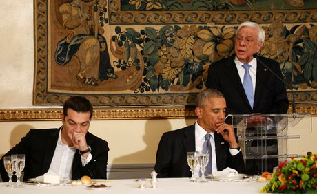 Obama den xu than thoai, thuc hien uoc mo tham den Parthenon - Anh 6