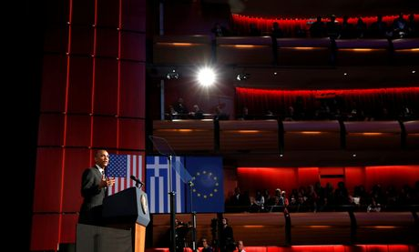 Obama den xu than thoai, thuc hien uoc mo tham den Parthenon - Anh 7