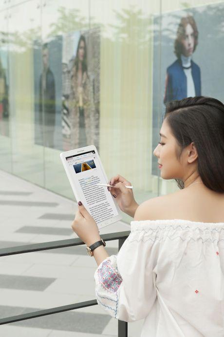 Trai nghiem but S Pen cua Galaxy Tab A 2016 - Anh 2
